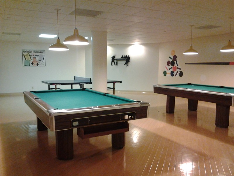 Real Estate Photography - 5904 Mount Eagle Dr, Unit 814, Alexandria, VA, 22303 - Billiards and ping pong.
