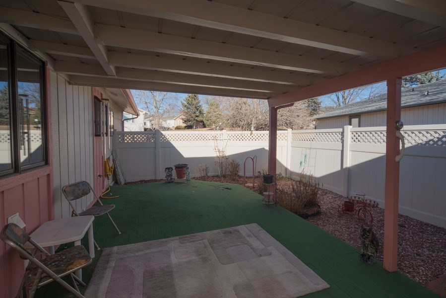 Real Estate Photography - 15 Douglass Dr N, Broomfield, CO, 80020 - Patio