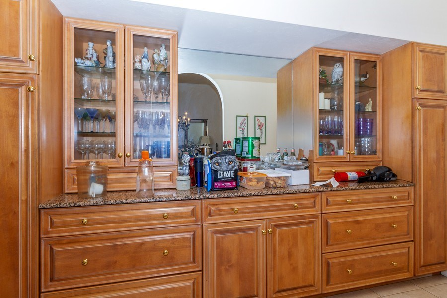 Real Estate Photography - 1661 N Copeland Dr, Marco Island, FL, 34145 - Butler's pantry