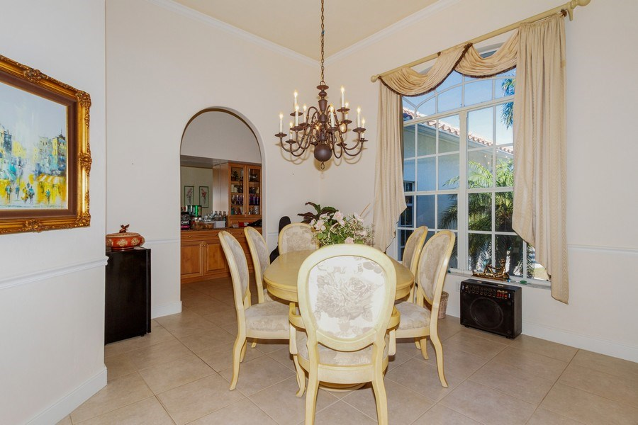 Real Estate Photography - 1661 N Copeland Dr, Marco Island, FL, 34145 - Dining Room