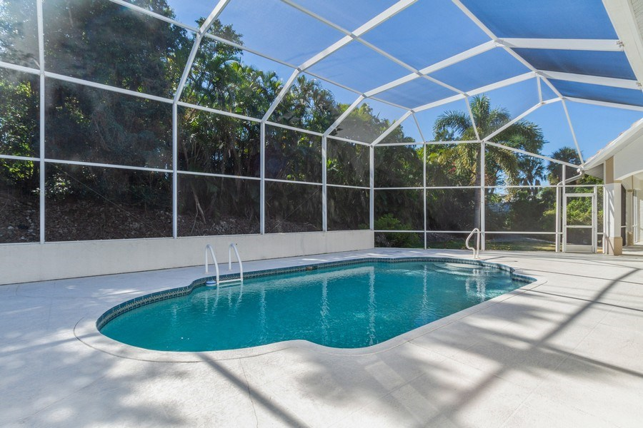 Real Estate Photography - 1661 N Copeland Dr, Marco Island, FL, 34145 - Pool