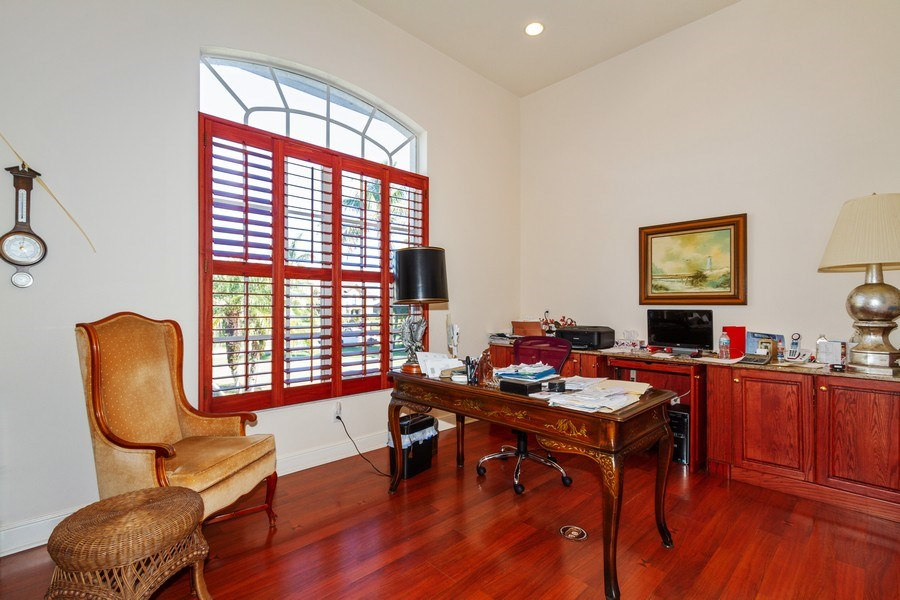 Real Estate Photography - 1661 N Copeland Dr, Marco Island, FL, 34145 - Office