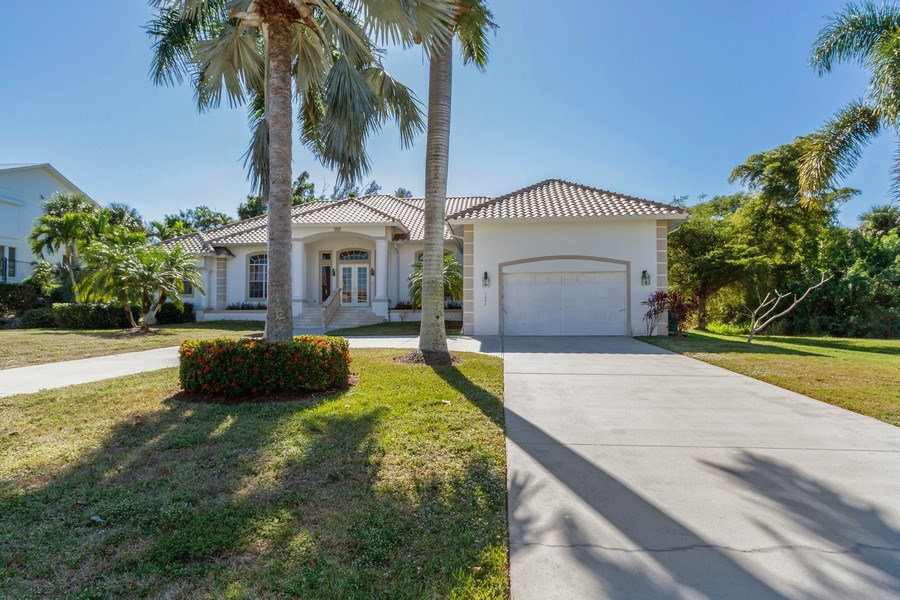 Real Estate Photography - 1661 N Copeland Dr, Marco Island, FL, 34145 - Front View
