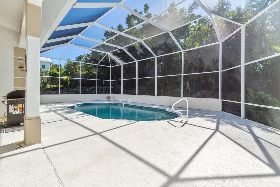 Real Estate Photography - 1661 N Copeland Dr, Marco Island, FL, 34145 - Patio