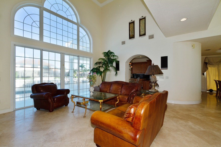 Real Estate Photography - 1648 Rainbow Ct, Marco Island, FL, 34145 - Living Room