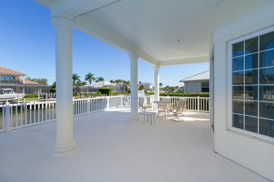 Real Estate Photography - 1648 Rainbow Ct, Marco Island, FL, 34145 - Terrace