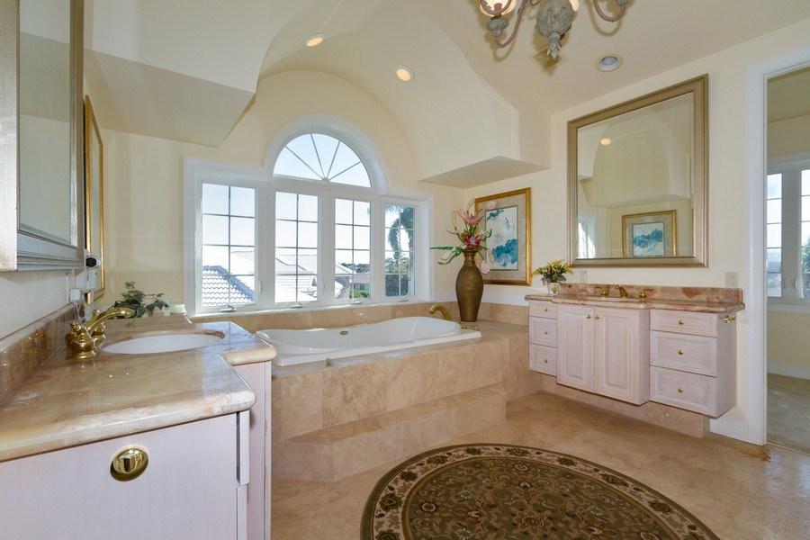Real Estate Photography - 1648 Rainbow Ct, Marco Island, FL, 34145 - Master Bathroom