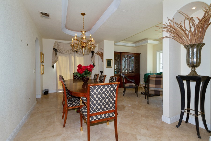 Real Estate Photography - 1648 Rainbow Ct, Marco Island, FL, 34145 - Dining Room