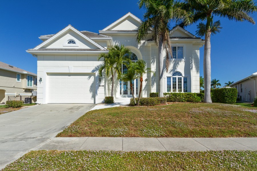 Real Estate Photography - 1648 Rainbow Ct, Marco Island, FL, 34145 - Front View