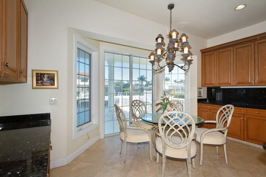 Real Estate Photography - 1648 Rainbow Ct, Marco Island, FL, 34145 - Breakfast Nook