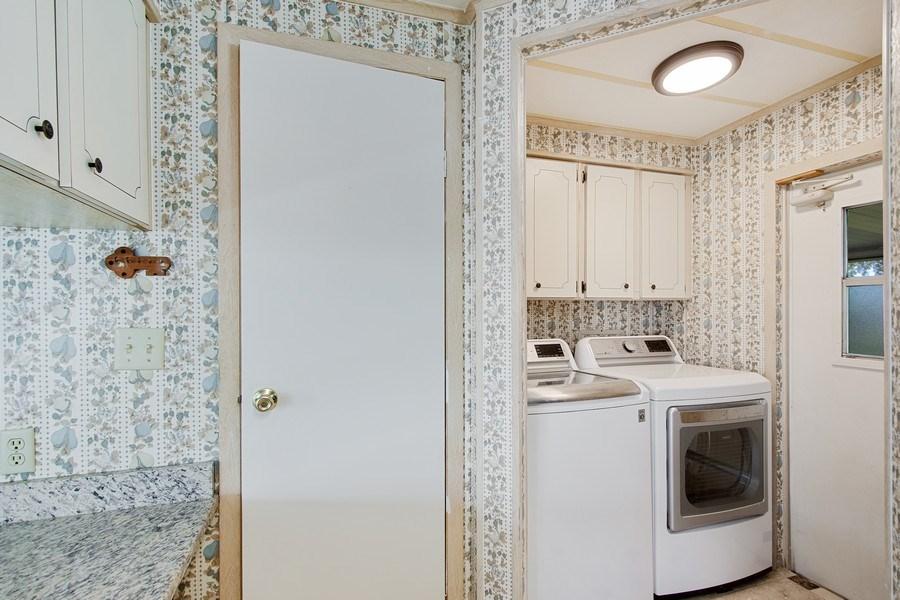 Real Estate Photography - 397 Blue Marlin Dr, Oldsmar, FL, 34677 - Laundry Room