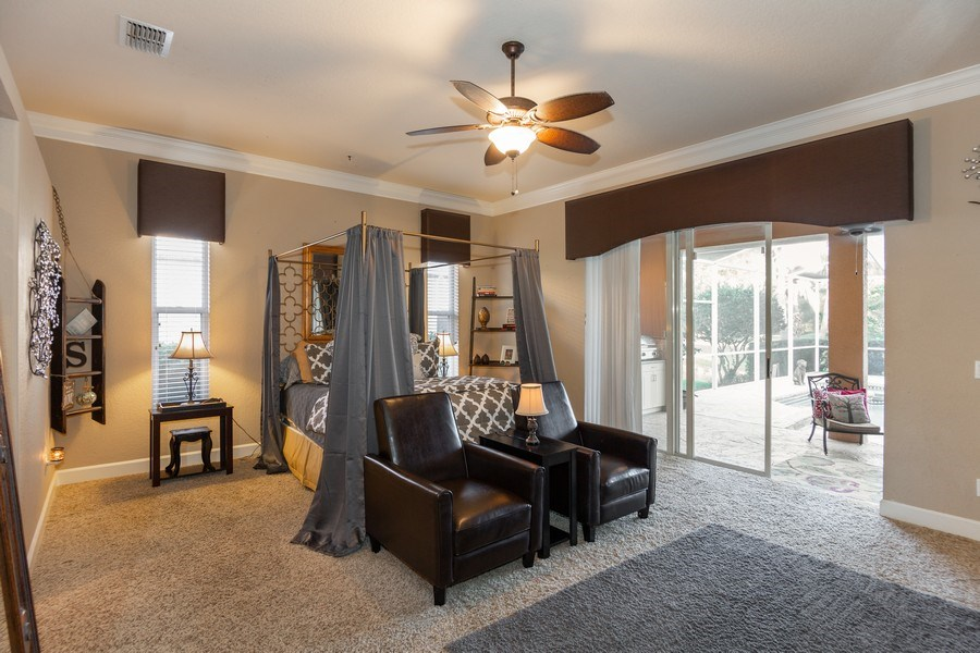 Real Estate Photography - 5201 Sand Trap, Valrico, FL, 33527 - Master Bedroom
