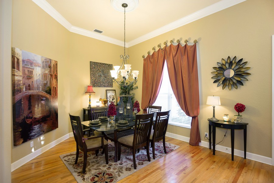 Real Estate Photography - 5201 Sand Trap, Valrico, FL, 33527 - Dining Room