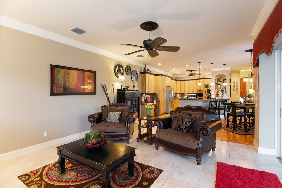 Real Estate Photography - 5201 Sand Trap, Valrico, FL, 33527 - Family Room