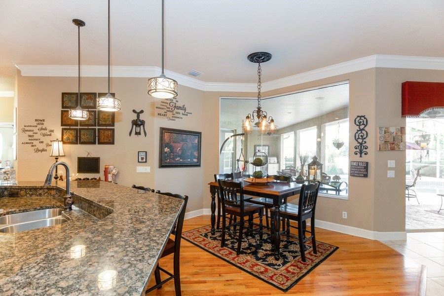 Real Estate Photography - 5201 Sand Trap, Valrico, FL, 33527 - Breakfast Area