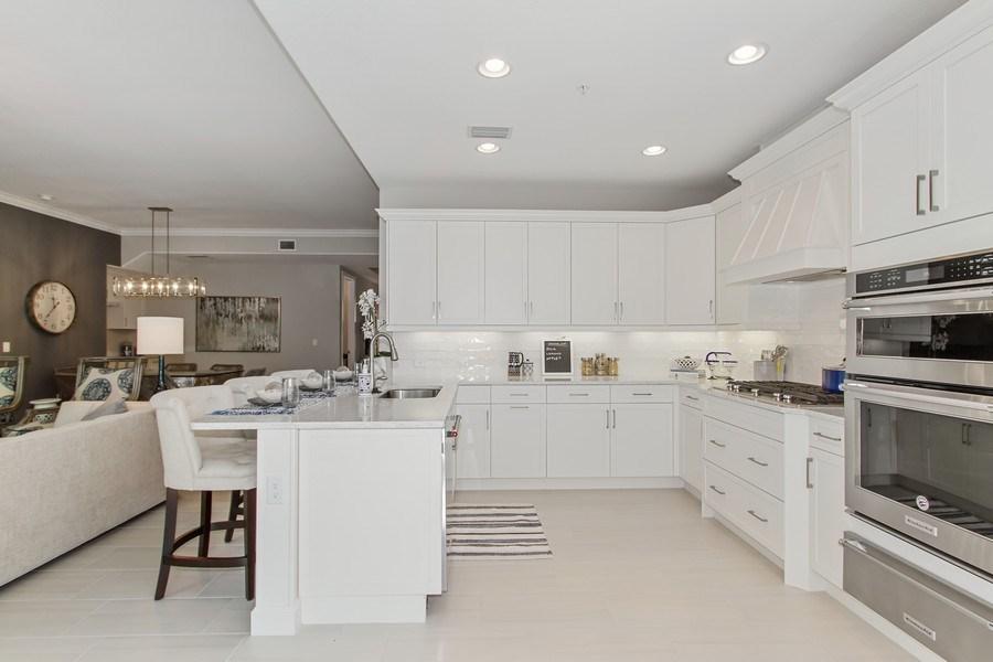 Real Estate Photography - 8031 Signature Club Cir, Unit 16101, Naples, FL, 34113 - Kitchen