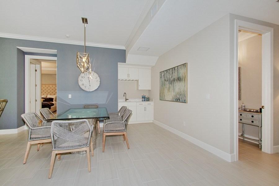 Real Estate Photography - 8031 Signature Club Cir, Unit 16101, Naples, FL, 34113 - Dining Room