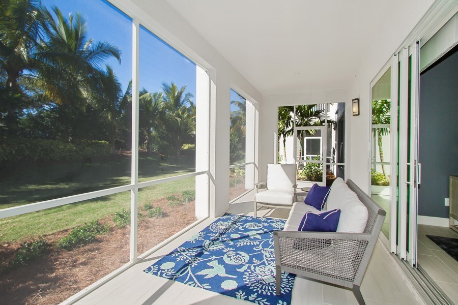 Real Estate Photography - 8031 Signature Club Cir, Unit 16101, Naples, FL, 34113 - Patio