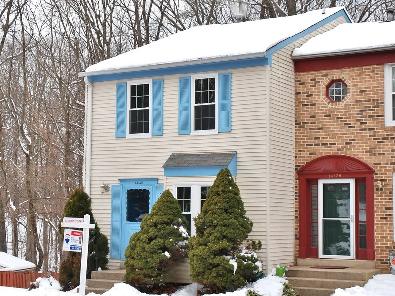 Real Estate Photography - 14236 Long Green Dr, Silver Spring, MD, 20906 - Side View