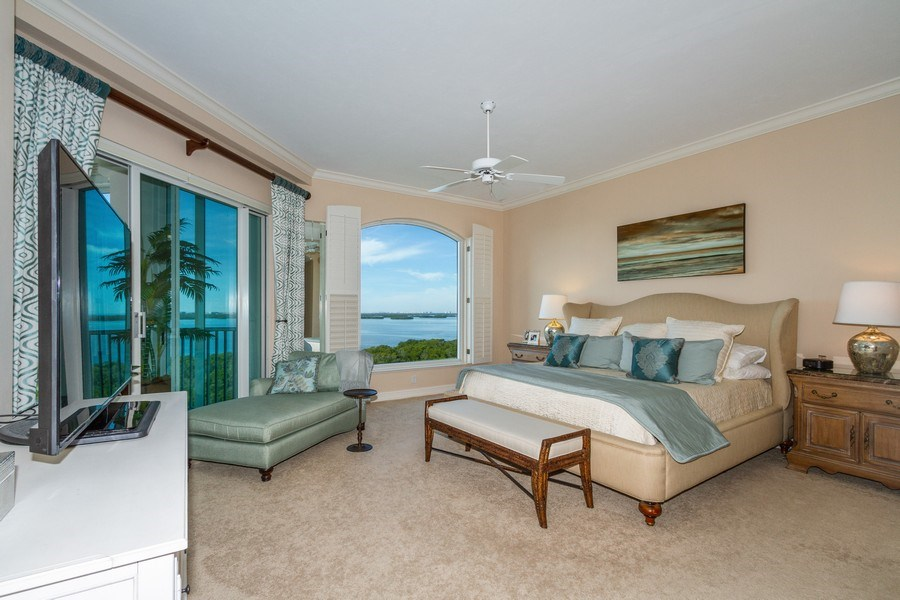 Real Estate Photography - 4811 Island Pond Ct #704, Bonita Springs, FL, 34134 - Master Bedroom