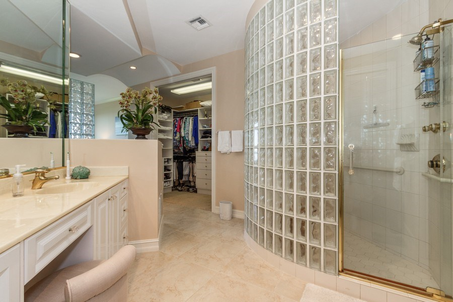 Real Estate Photography - 4811 Island Pond Ct #704, Bonita Springs, FL, 34134 - Master Bathroom