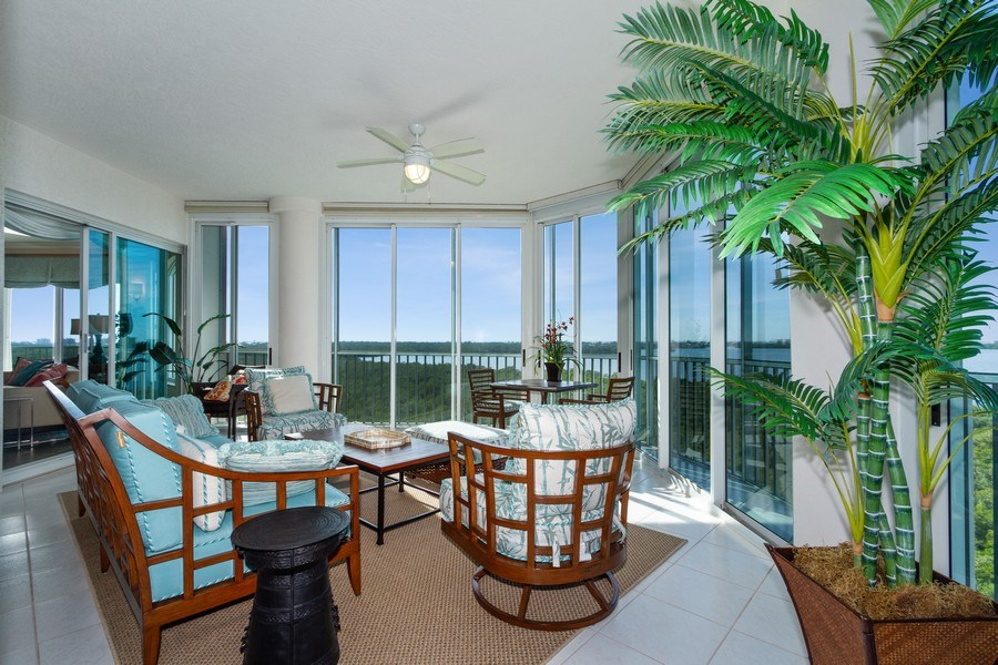 Real Estate Photography - 4811 Island Pond Ct #704, Bonita Springs, FL, 34134 - Patio