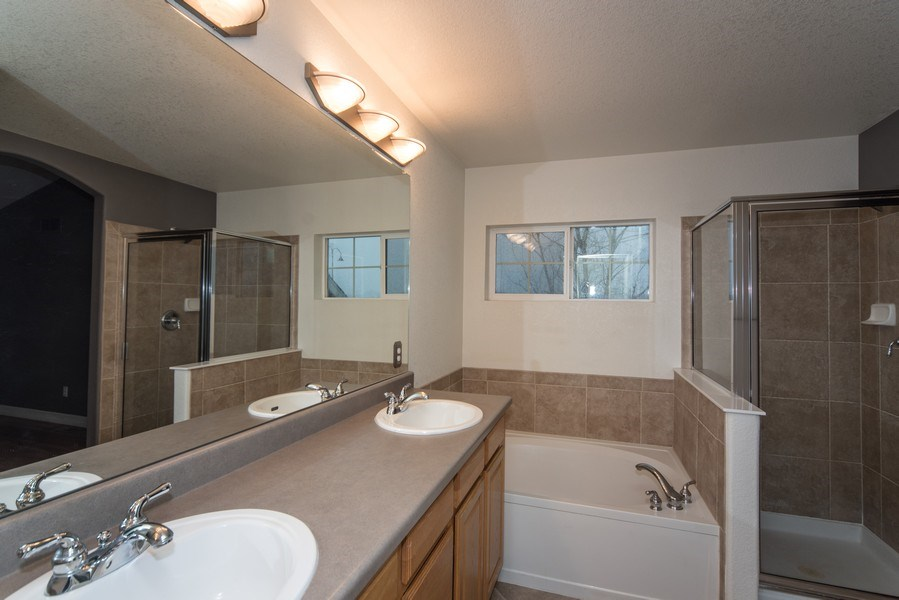 Real Estate Photography - 14061 Blue River Trl, Broomfield, CO, 80023 - Master Bathroom