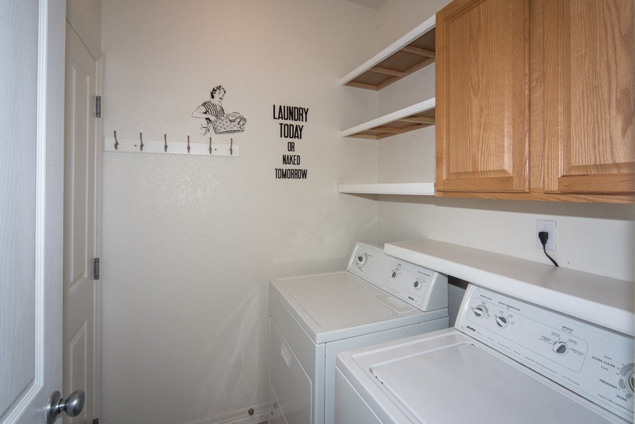Real Estate Photography - 14061 Blue River Trl, Broomfield, CO, 80023 - Laundry Room
