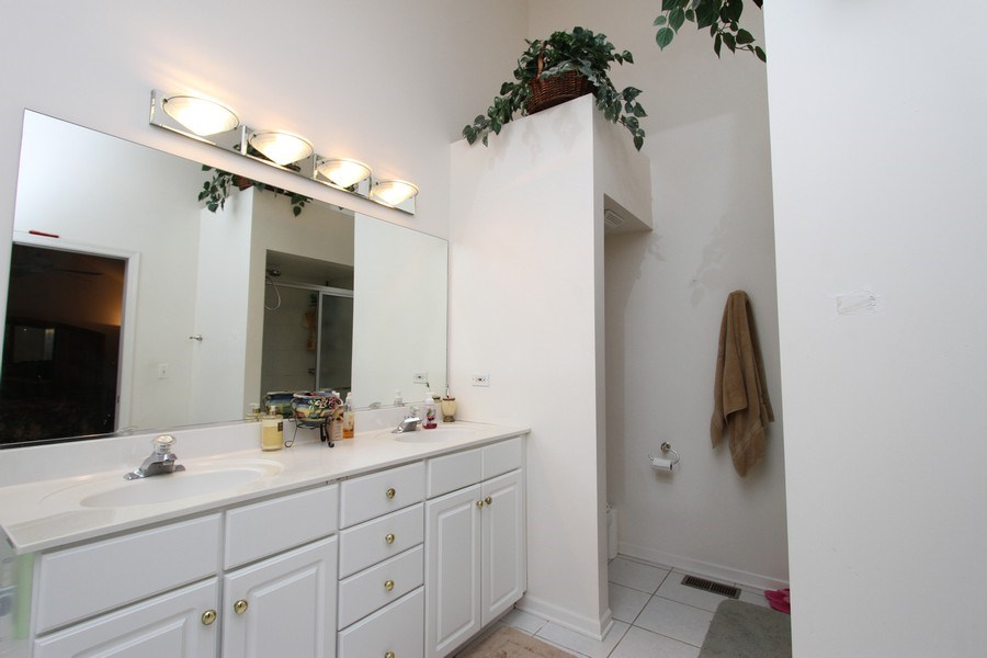 Real Estate Photography - 3402 Braeberry, Crystal Lake, IL, 60012 - Master Bathroom