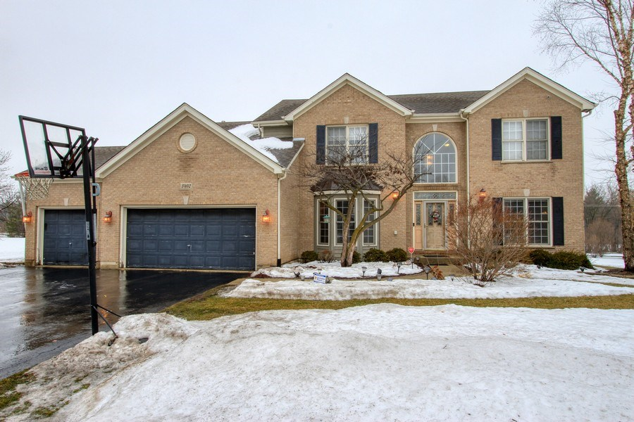 Real Estate Photography - 3402 Braeberry, Crystal Lake, IL, 60012 - Front View
