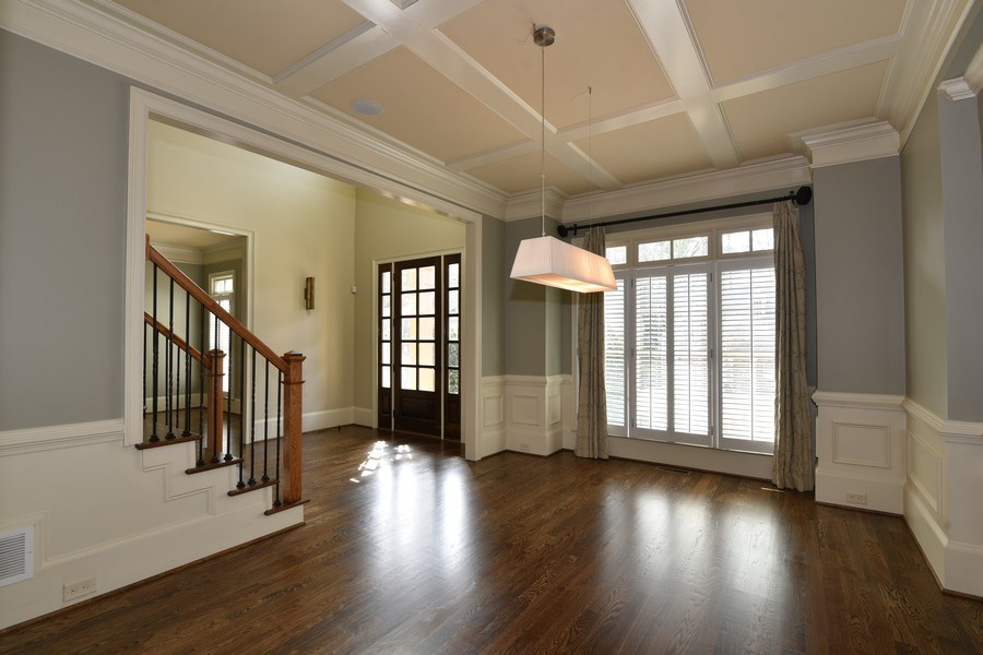 Real Estate Photography - 2215 Abby Lane NE, Atlanta, GA, 30345 - Foyer/Dining Room