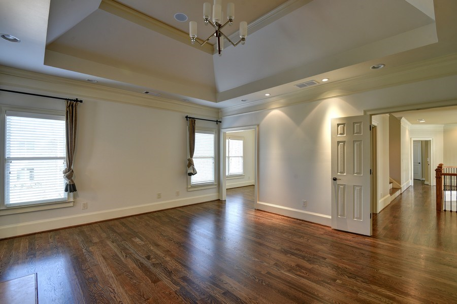 Real Estate Photography - 2215 Abby Lane NE, Atlanta, GA, 30345 - Master Bedroom