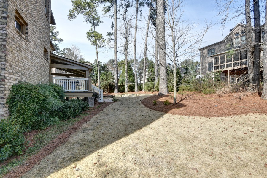 Real Estate Photography - 2215 Abby Lane NE, Atlanta, GA, 30345 - Back Yard