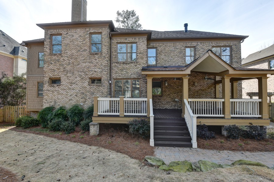 Real Estate Photography - 2215 Abby Lane NE, Atlanta, GA, 30345 - Rear View