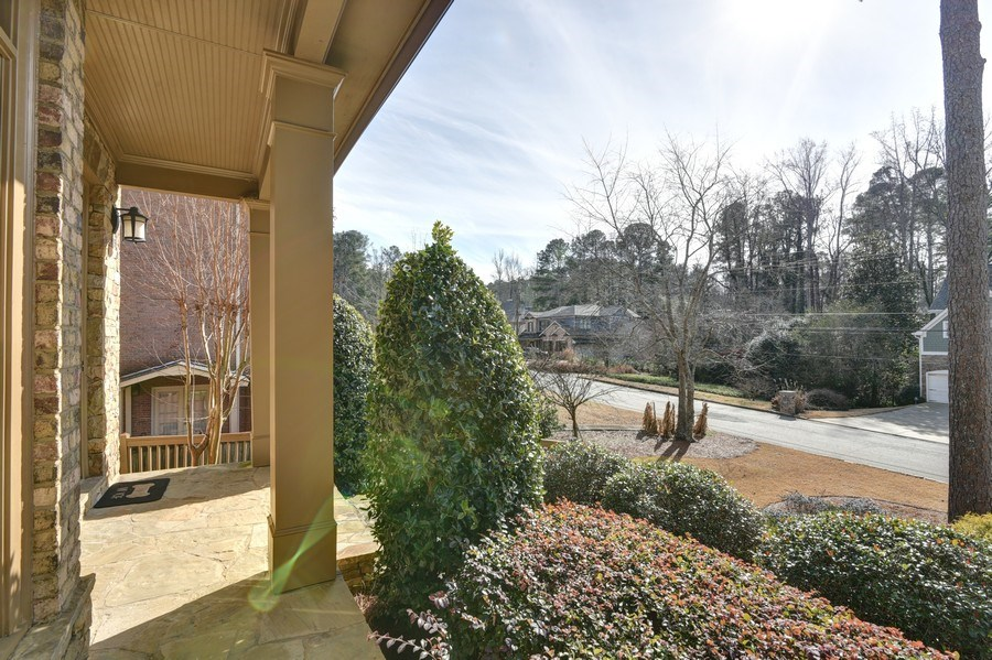Real Estate Photography - 2215 Abby Lane NE, Atlanta, GA, 30345 - Porch