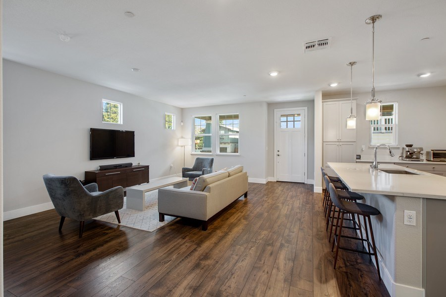 Real Estate Photography - 601 Chives Way, Walnut Creek, CA, 94595 - Living Room