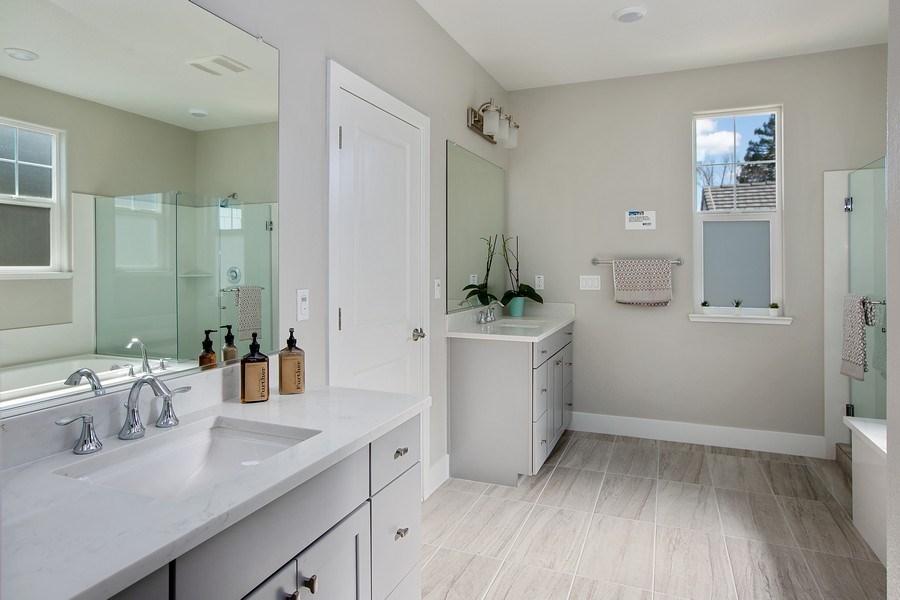 Real Estate Photography - 601 Chives Way, Walnut Creek, CA, 94595 - Master Bathroom