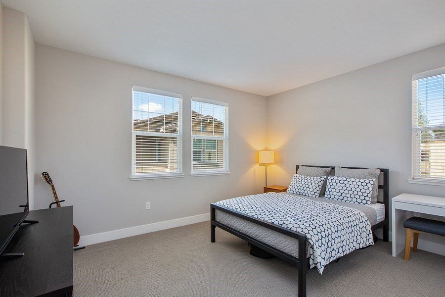 Real Estate Photography - 601 Chives Way, Walnut Creek, CA, 94595 - Bedroom