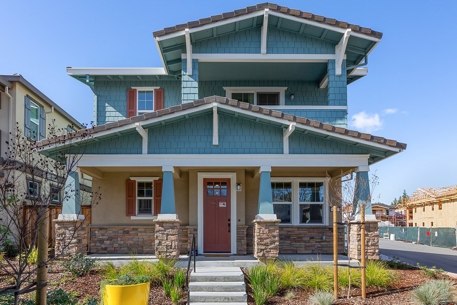 Real Estate Photography - 601 Chives Way, Walnut Creek, CA, 94595 - Front View