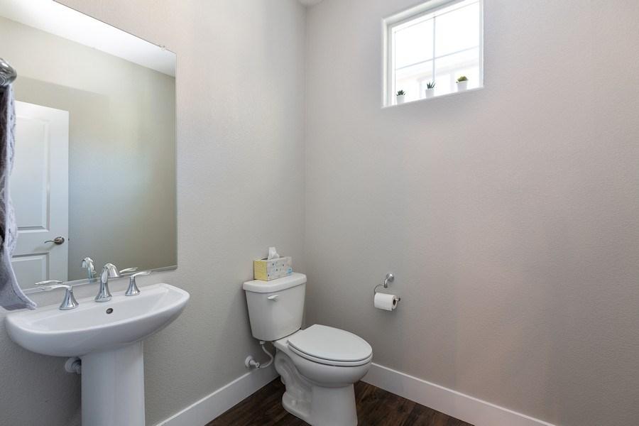 Real Estate Photography - 601 Chives Way, Walnut Creek, CA, 94595 - Half Bath