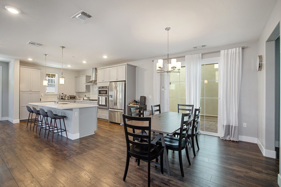 Real Estate Photography - 601 Chives Way, Walnut Creek, CA, 94595 - Kitchen / Dining Room