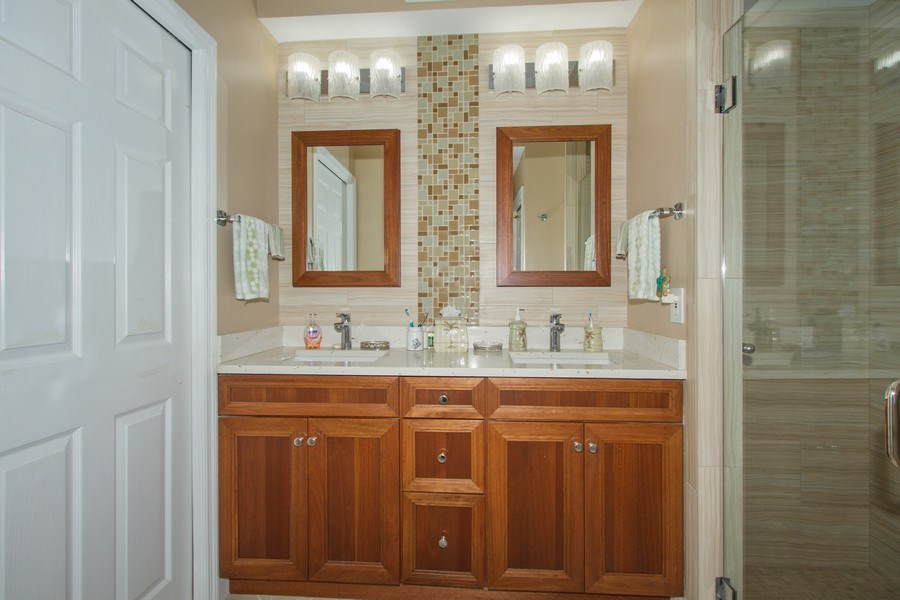 Real Estate Photography - 2280 Carrington Ct #101, Naples, FL, 34109 - Master Bathroom