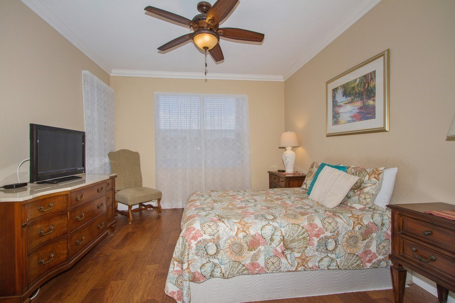 Real Estate Photography - 2280 Carrington Ct #101, Naples, FL, 34109 - Master Bedroom