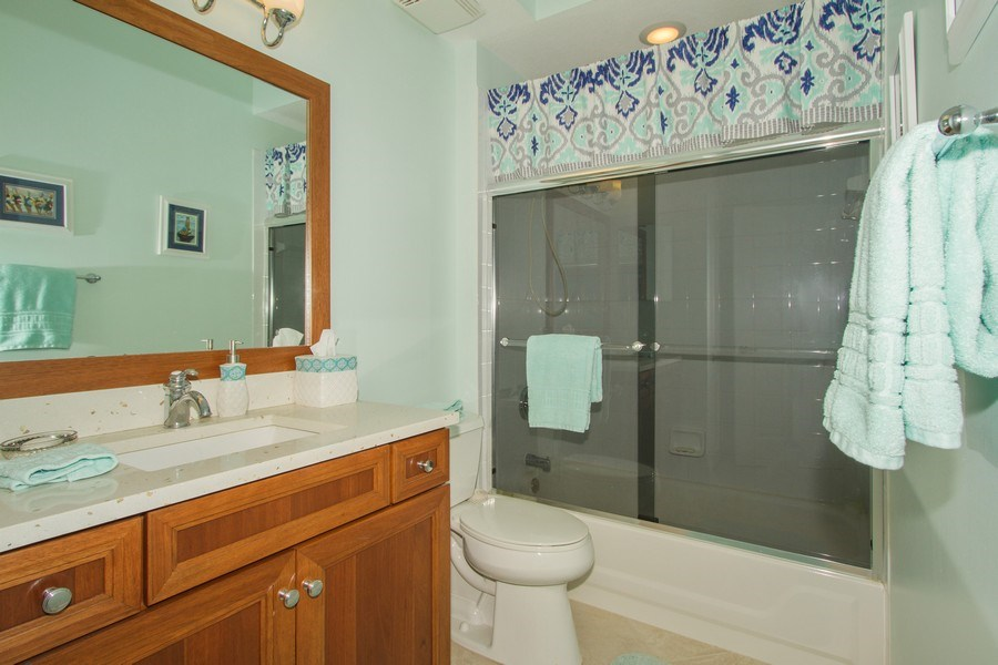 Real Estate Photography - 2280 Carrington Ct #101, Naples, FL, 34109 - Bathroom