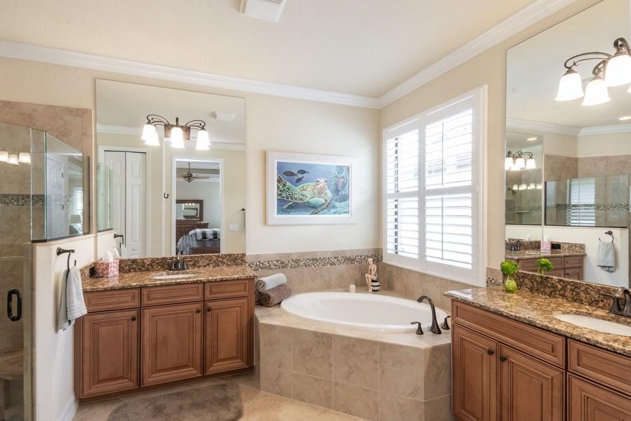 Real Estate Photography - 12538 Fenhurst Way, Naples, FL, 34120 - Master Bathroom