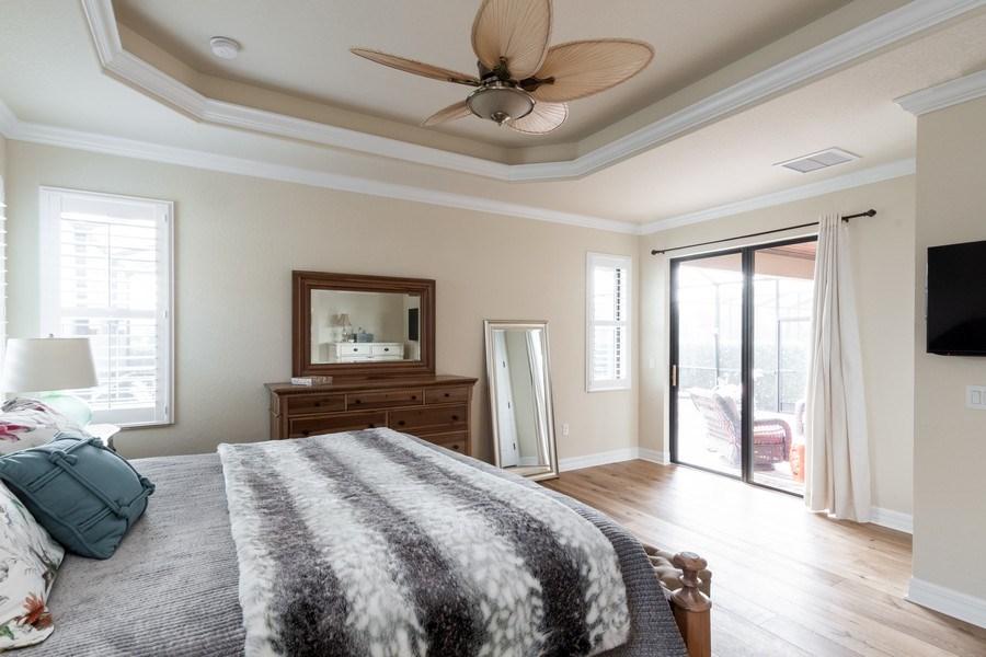 Real Estate Photography - 12538 Fenhurst Way, Naples, FL, 34120 - Master Bedroom