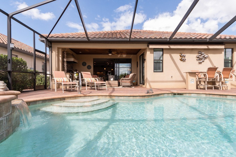 Real Estate Photography - 12538 Fenhurst Way, Naples, FL, 34120 - Pool