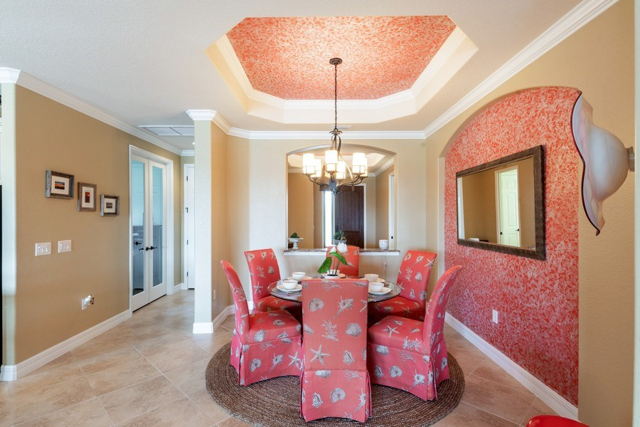 Real Estate Photography - 12538 Fenhurst Way, Naples, FL, 34120 - Dining Area