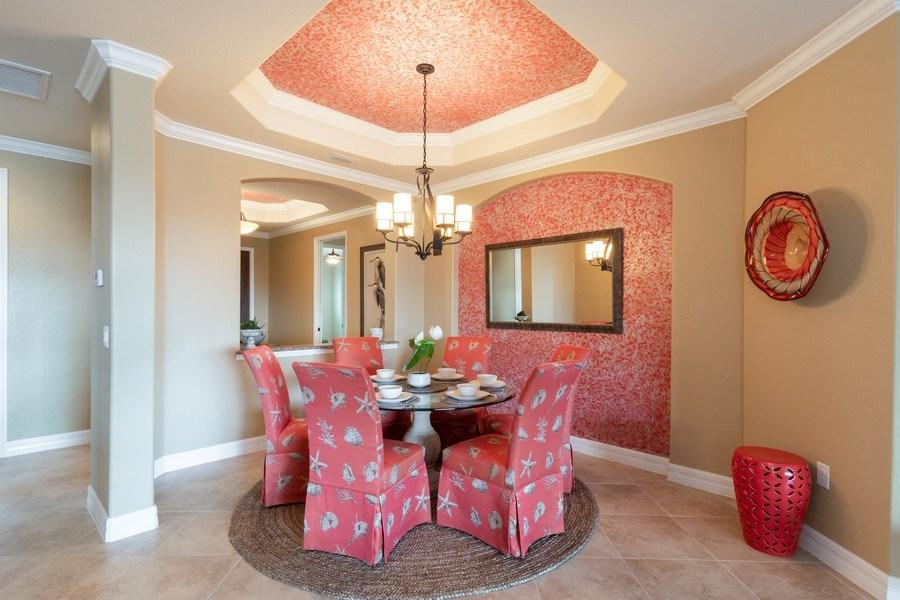 Real Estate Photography - 12538 Fenhurst Way, Naples, FL, 34120 - Dining Area 2