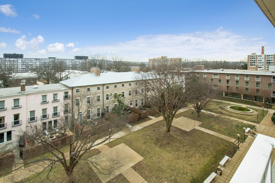 Real Estate Photography - 510 SW N St, Apt N625, Washington, DC, 20024 - View